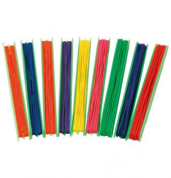 Coloured pure latex elastic